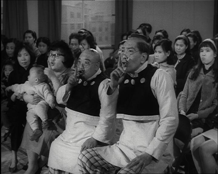 康樂及文化事務署香港電影資料館(資料館)在農曆新年找來一眾笑星,於二月七日及九日在資料館電影院推出的賀歲節目「笑星笑聲伴你過肥年」大放笑彈。圖為《老夫子與大蕃薯》(1966)劇照。