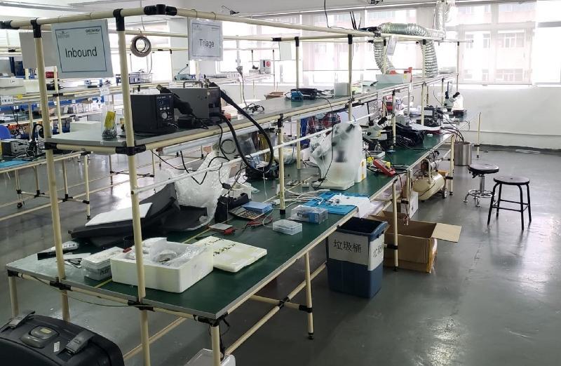 Hong Kong Customs raids repair workshop using counterfeit