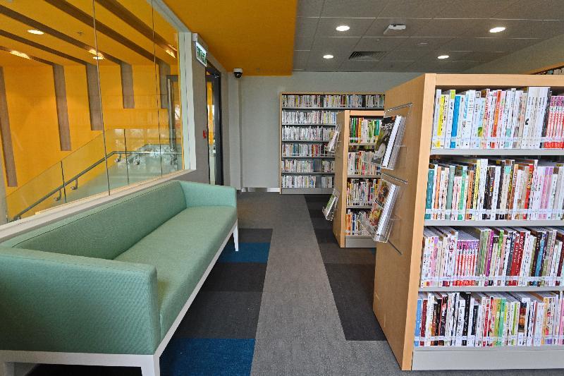 閉館重建的南丫島北段公共圖書館於六月二十四日(星期一)重新開放,館藏逾二萬七千項。