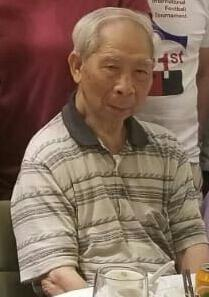 Wong Tsun, aged 87, is about 1.57 metres tall, 59 kilograms in weight and of thin build. He has a square face with yellow complexion and short greyish-white hair. He was last seen wearing a grey polo shirt, black long trousers, black shoes, carrying a black waist bag and a white plastic bag.