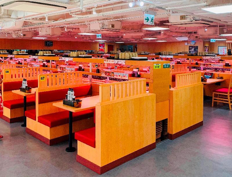 日本迴轉壽司連鎖餐廳壽司郎今日(八月十三日)於鄰近佐敦港鐵站的商業大廈開設首間分店。