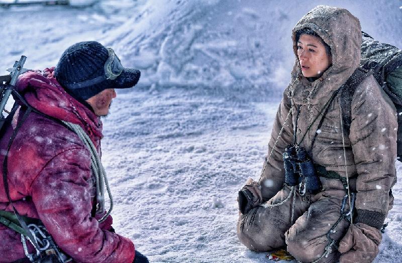 康樂及文化事務署和華南電影工作者聯合會合辦的「中國內地電影展2019」將於九月三日至十月十三日舉行,選映十八部內地近年出品的電影作品。圖示《攀登者》(2019)劇照。