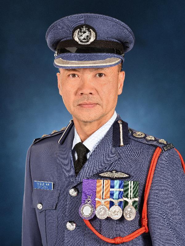 現任政府飛行服務隊總機師胡偉雄將於二○一九年九月八日出任政府飛行服務隊總監。