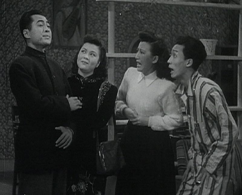 康樂及文化事務署香港電影資料館的「瑰寶情尋」系列將以「光影雙城」為題,於十月六日至二○二○年五月三日期間放映八套與上海有關的電影。圖示《花外流鶯》(1948)劇照。