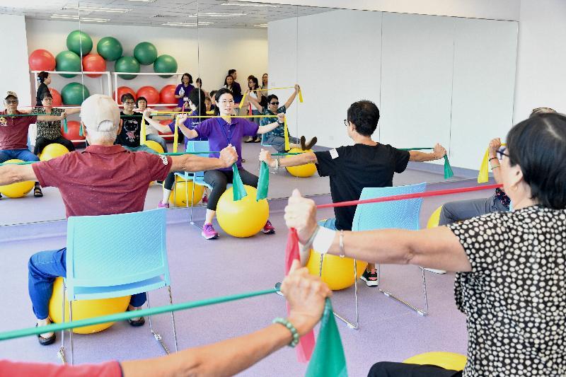葵青地區康健中心將於九月二十五日正式投入服務,巿民可參與中心舉辦的運動工作坊。