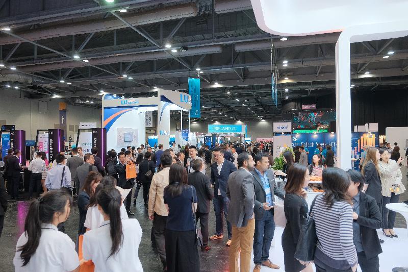 Hong Kong Fintech Week drew more than 12 000 attendees from over 60 economies.