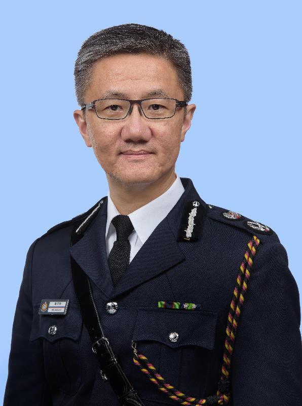 警務處高級助理處長蕭澤頤於今日(十一月十九日)出任警務處副處長。