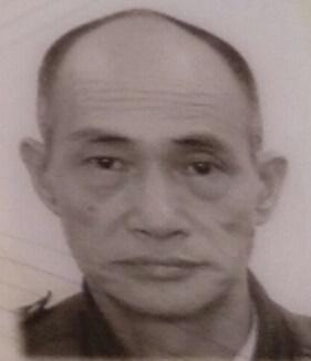 Poon Lap-cheung, aged 71, is about 1.65 metres tall, 50 kilograms in weight and of thin build. He has a pointed chin with yellow complexion and short white hair. He was last seen wearing a blue and white jacket, a yellow cardigan, grey trousers, dark sneakers, a black hat and a black bag.