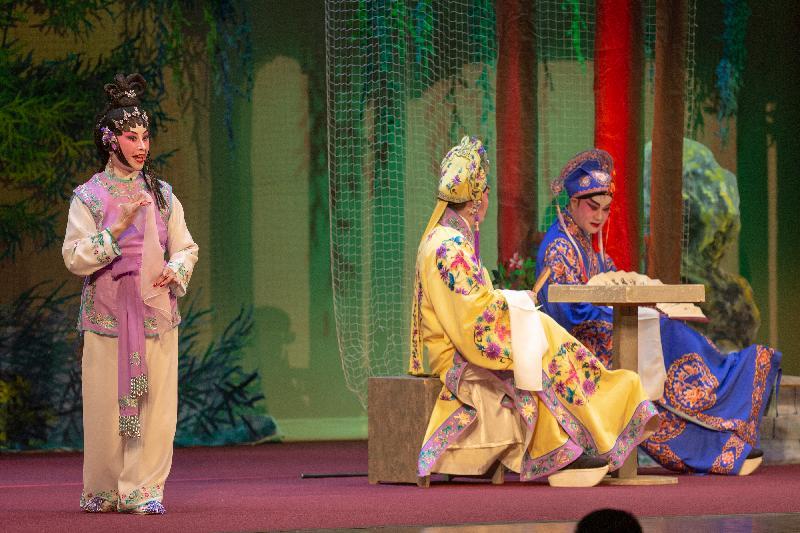 十二月十三日(三藩市時間)於三藩市的粵劇表演。