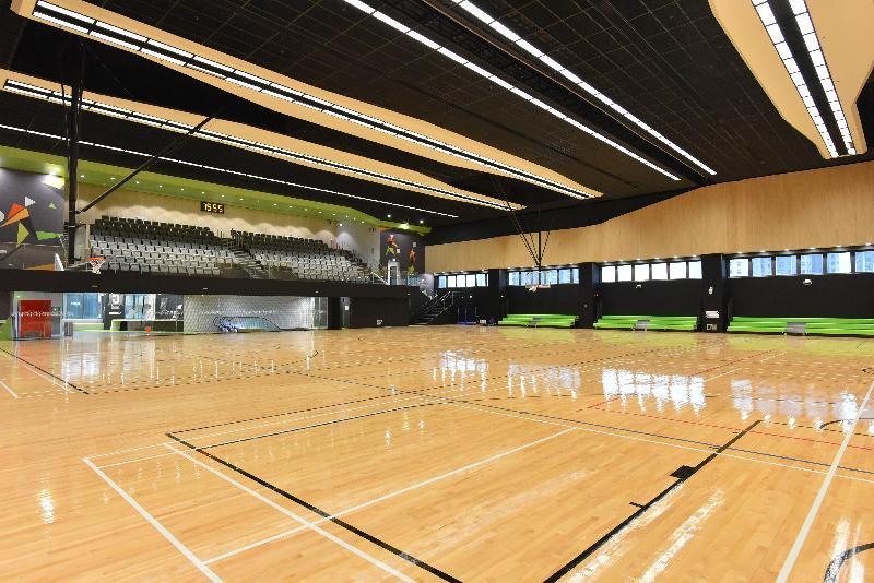 位於兆麟體育館五樓的多用途主場將於十二月三十一日正式啟用,為居民提供多樣化的康體設施。
