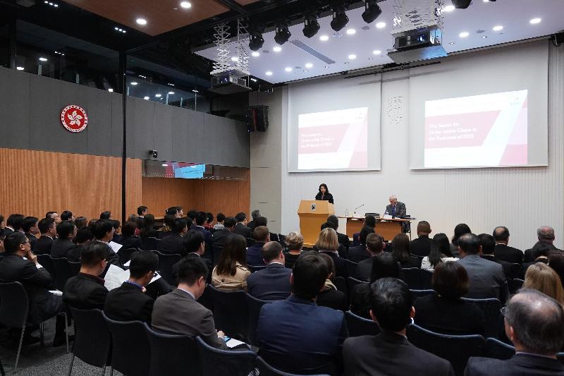 特許仲裁學會舉辦的第四十五屆「Alexander Lecture」講座今日(一月十六日)在香港舉行,出席者包括資深法律執業者、學者以及政府官員。