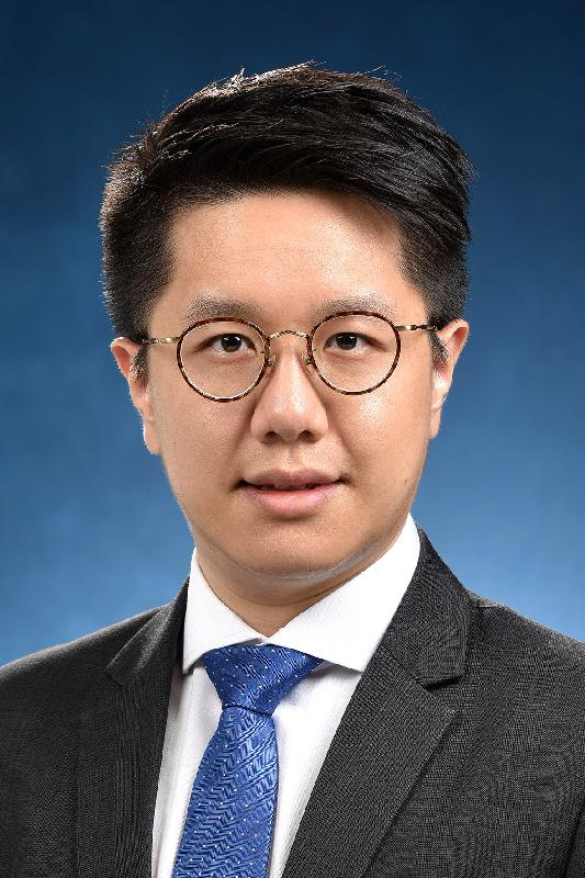 Political Assistant to the Secretary for Financial Services and the Treasury, Mr Julian Ip Chun-lim.