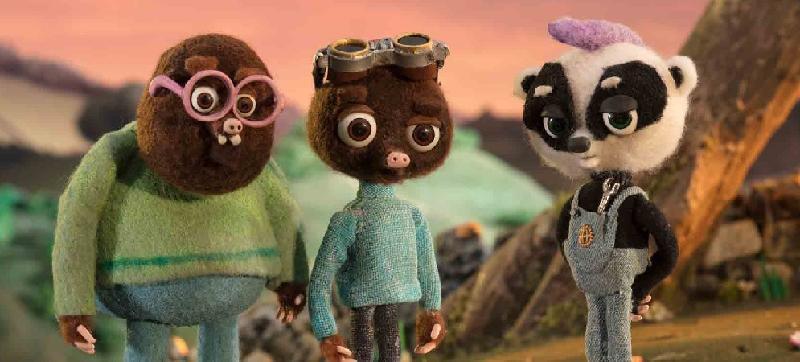 康樂及文化事務署電影節目辦事處的「國際兒童及青少年電影合家歡2020」,精選多部世界各地的動畫、長片和短片,為大小朋友帶來精彩的夏日娛樂。圖示《鼴鼠足球明星夢》(2019)劇照。