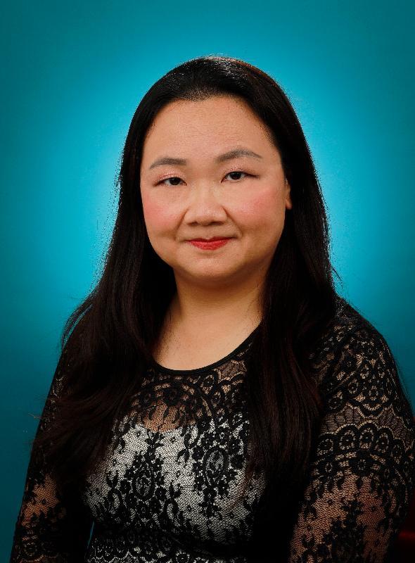 新任九龍城民政事務專員蔡敏君。