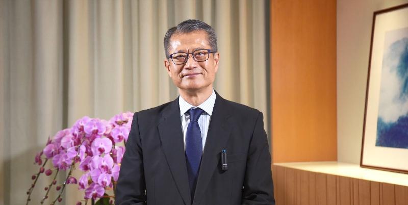第五屆「一帶一路高峰論壇」今日(十一月三十日)開幕。財政司司長陳茂波今早在題為「可持續及共融發展驅動全球復甦」的主論壇發言。