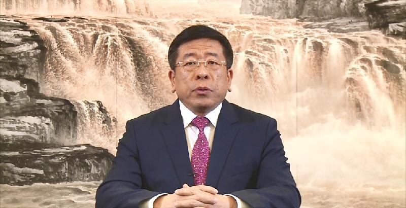 第五屆「一帶一路高峰論壇」今日(十一月三十日)開幕。國務院國有資產監督管理委員會副主任任洪斌於今早的開幕環節發表講話。