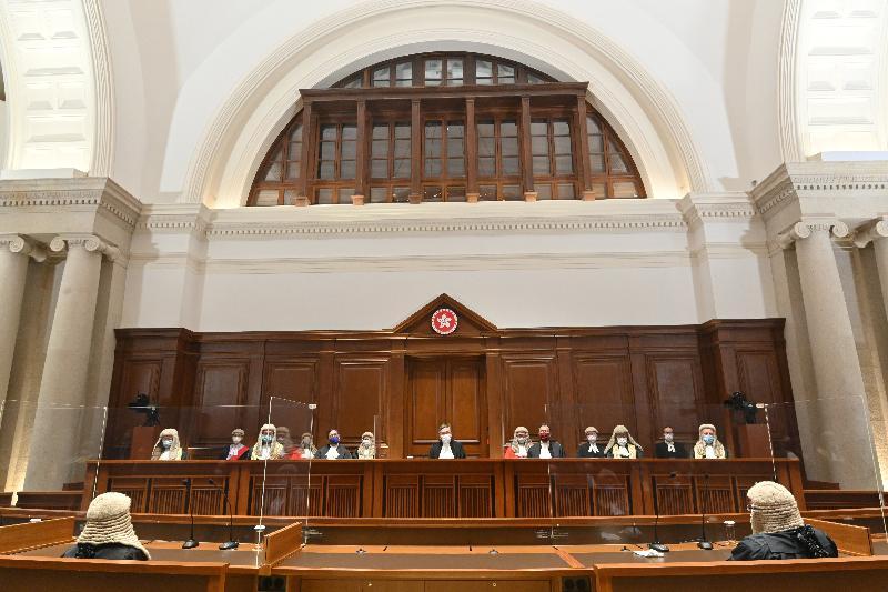 二○二一年法律年度開啟典禮今日(一月十一日)於終審法院舉行。