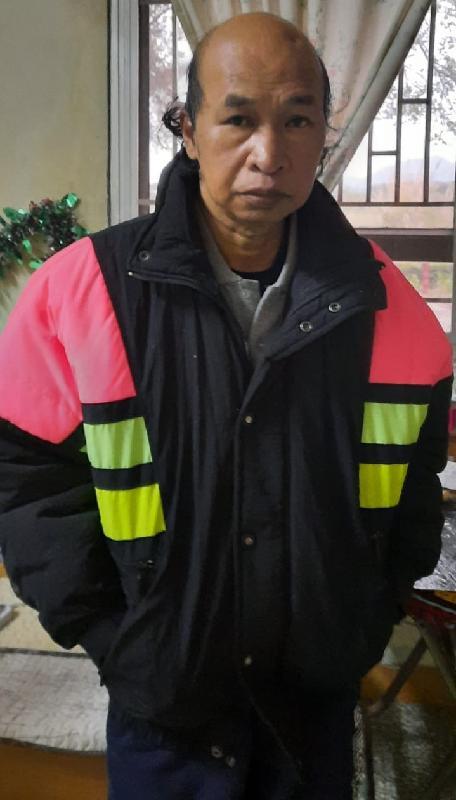 警方呼籲市民提供打鼓嶺失蹤男子消息