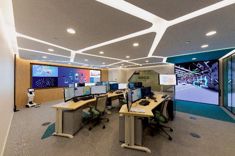 機電工程署在日內瓦國際發明展獲取佳績,榮獲四項金獎及四項銀獎,成績令人鼓舞。圖示「建築語義人工智能系統」。