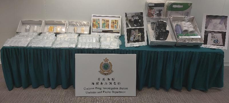 香港海關檢獲約二千九百萬元懷疑海洛英