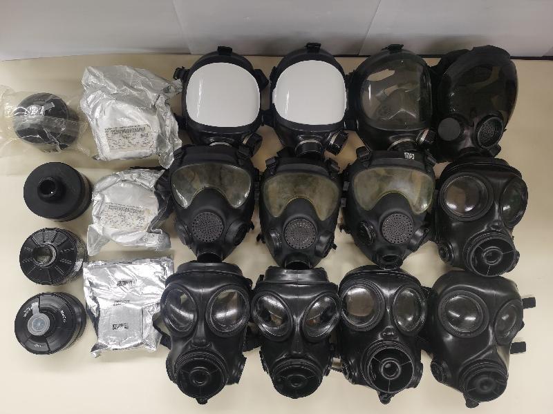 香港海關及警方聯合行動檢獲懷疑非法進口戰略物品