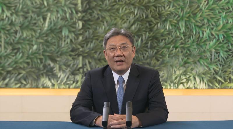 第六屆「一帶一路高峰論壇」今日(九月一日)開幕。國家商務部部長王文濤今早在開幕環節上致辭。