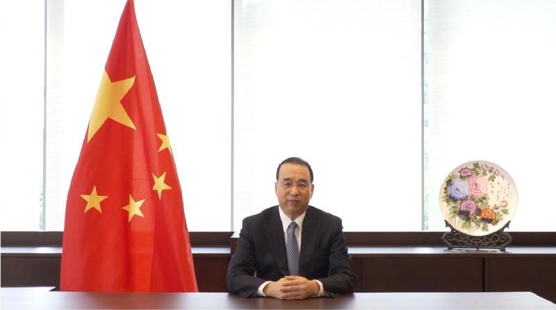 第六屆「一帶一路高峰論壇」今日(九月一日)開幕。中華人民共和國外交部駐香港特別行政區特派員公署特派員劉光源今早在開幕環節上致辭。