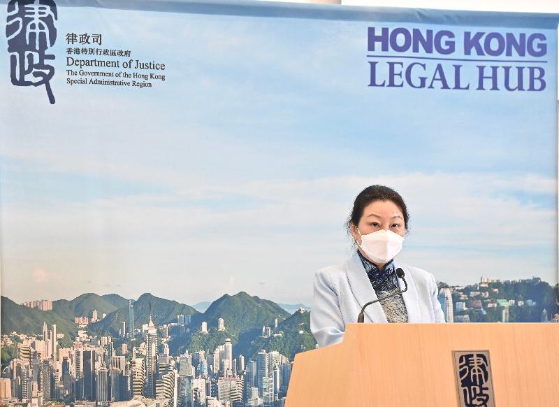 律政司司長在「香港法律專業在粵港澳大灣區執業及其他機遇」宣介座談會致辭全文