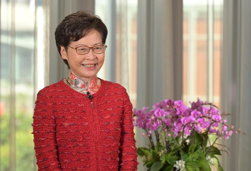 行政長官林鄭月娥今日(九月十六日)在第十八屆中國西部國際博覽會開幕式暨第十屆中國西部國際合作論壇透過視像致辭。