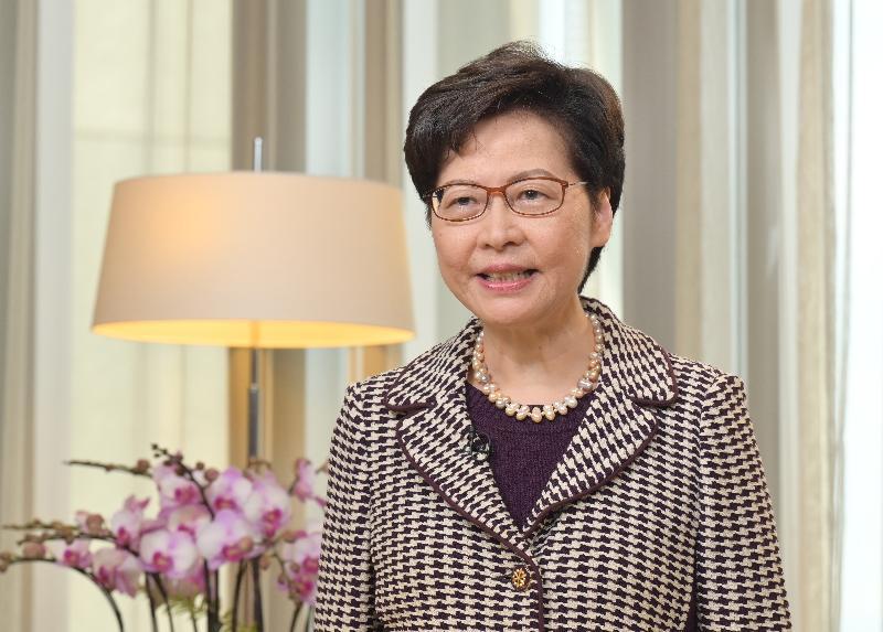 行政長官在新界社團聯會成立三十六周年會慶致辭